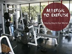 Blog post at Day By Day in Our World : Did you just read the title and go 'huh? How can someone be allergic to exercise?' Well if you did, you would not be alone. Click on over to read more about this REAL condition and what I'm doing to live with it.  #health #essentialoils #allergies #hives