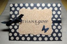 Craft Show Ideas to Sell. Handcrafted Thank you cards. Make them in Cohesive Sets of Four or More with Handmade Envelopes.