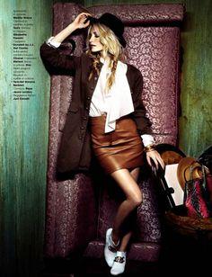 Poppy Delevingne by Francesco Carrozzini for Glamour Italia March 2014