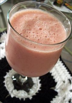 Shannon's Cantaloupe Delight Smoothie. Photo by love4culinary