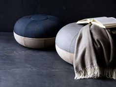 Fritz Hansen Objects Pouf von Cecilie Manz - Designermöbel von smow.de
