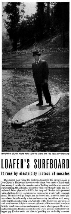 seitenanblick surf motor designer surfbrett jetsurf