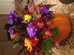 About pumpkin flowers on pinterest sunflower arrangements pumpkin