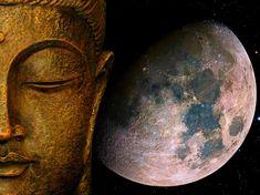10 MAGGIO 2017-LUNA PIENA IN SCORPIONE: La Luna del Wesak e la benedizione del Buddha