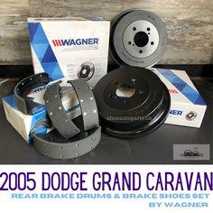 #dodge #caravan #brakes #brakedrums #brakeshoes #wagner #toronto #autoparts #ahonautoparts