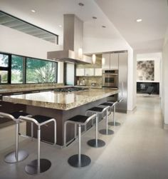 Contemporary Brown Kitchen   Kitchens   LUXE Source