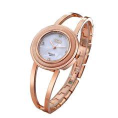 e4c9d41eecf1 Fashion Women Bracelet Wrist Watch
