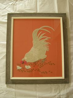 Large and In Charge. Dynamic Vintage Chicken and by RedEyeVintage, $148.00