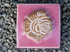Motiv Pflasterstein Rose in der Farbe Flieder ,absolut frostfest - Gärten für Auge & Seele