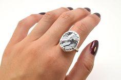 Cómo hacer un original anillo con pasta de modelar  #diy #handmade #pastaparamodelar