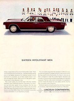 1963 Lincoln Continental Four Door Hardtop