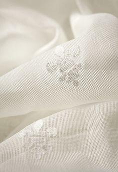 Fleur de Lys Madras in Ivory, 66290.  http://www.fschumacher.com/search/ProductDetail.aspx?sku=66290 #Schumacher