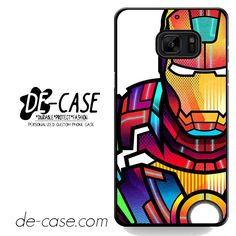 Ironman Colorful Art DEAL-5685 Samsung Phonecase Cover For Samsung Galaxy Note 7