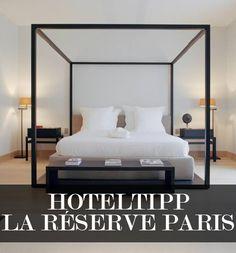 Das La Réserve Paris besteht aus zwei Teilen: einem klassischen Luxushotel und einem modernen Apartmentkomplex. Beide wollen den Gästen Seelenfrieden spenden