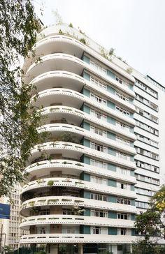 Edifício Domus. Rua Sabará, 47 - Higienópolis Esse prédio é incrível, meu sonho de consumo!