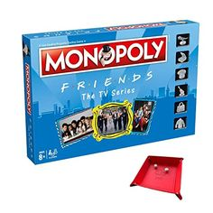 Includes Unique Foldable Playing Piece / Dice Tray Holder Bundled with Game Monopoly Board, Fun Board Games, Lego City, Friends, Boards, Dice, Unique, Tray, Fun Time