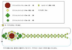 sunflower ring  pattern (Japanese)