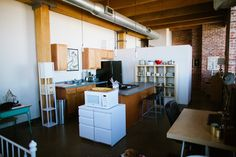 """Bridget & Robert's """"Collected Treasures"""" Budget Friendly Loft — House Tour 