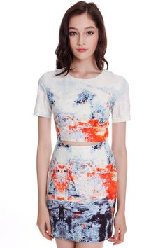 Catalina Dress in Orange (2220326ORG)