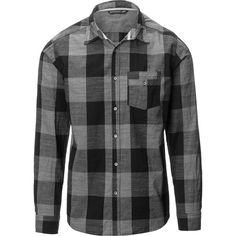 Siphon The Hicks Buffalo Plaid Button-Down Shirt ($20) ❤ liked on Polyvore featuring men's fashion, men's clothing, men's shirts, men's casual shirts, men, shirts, tops, men shirt's, men's tops and men's buffalo check shirt