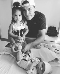 Congrats to TJ & Lyla Oshie on the birth of their daughter Leni Rose!