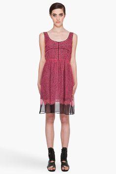 proenza schouler shibori silk dress