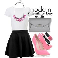 """""""Glam Valentines Day Outfit 04"""" by alyssanicolesmith on Polyvore"""