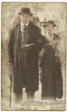 Bates and Anna, love the old tin type look.  I really am hooked on Downton Abbey.