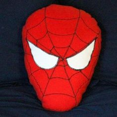 When you sleep with Spider-Man under your head, you're sure to sleep soundly. Kids would love this fun kids' craft.