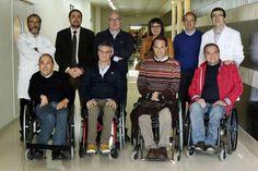 Los lesionados medulares asesoran en la adaptación de espacios para la unidad de seguimiento | farodevigo.es