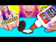 DIY CRUNCHIEST SLIME EVER + SLIME DARES! ( Licking Slime, Mixing Slimes Together ) | SarahChoxo - YouTube