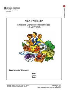 dossier de nutrició - aula acollida