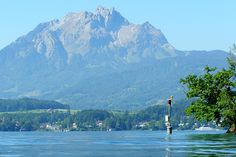 The Pilatus and Lake Lucerne (Switzerland) by jag9889, via Flickr