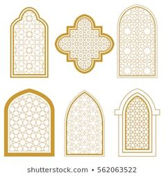Find Set Islamic Ornamental Window Arabic Traditional stock images in HD and millions of other royalty-free stock photos, illustrations and vectors in the Shutterstock collection. Arabian Decor, Style Floral, Shop Facade, Arabic Pattern, Pattern Art, Ramadan Crafts, Moroccan Art, Banner Background Images, Home Design Floor Plans