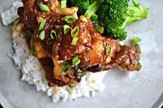 Bakeaholic Mama: General Tso's Cauliflower