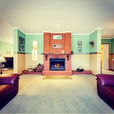 Symmetry is important to real estate photography and makes an image more easy on the eye to look at! 12 De Garis Place Werribee http://ift.tt/2byhrXg  Credit to @snapmediagroup for the pic #localhomestaging #homestaging #symmetry #symmetrical #fireplace #openfire #mantlepiece #realestatephotography #realestate