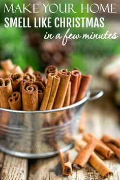 Make Your Home Smell like Christmas in a Few Minutes - Sarah Titus
