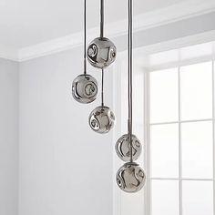 Alexis 5 Light Cluster Fitting Iridescent | Dunelm Light Fittings, Iridescent, Cleaning Wipes, In The Heights, Door Handles, Bulb, Ceiling Lights, Luxury, Loft