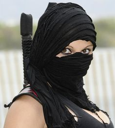 Micah's Deatheater uniform? female warriors - Google Search