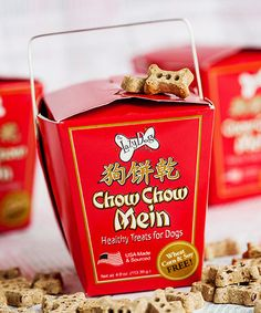 Another great find on #zulily! Chow Chow Mein Pumpkin Ginger Dog Treats #zulilyfinds