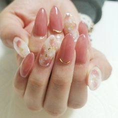 ネイルデザイン人気ランキング|ネイルブック in 2020 Beautiful Nail Art, Gorgeous Nails, Acrylic Nail Designs, Nail Art Designs, Cute Nails, Pretty Nails, Korea Nail Art, Kawaii Nails, Nagellack Trends
