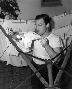 Gene Kelly, 1940s- Remember when we were crushing on Gene Kelly? haha