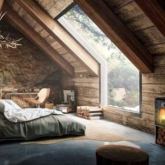 I love this! This would be my dream bedroom