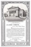 Georgia Marble 1928 Ad Picture