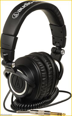 AUDIO TECHNICA ATH-M50 #audio-technica #ATH-M50 #casque