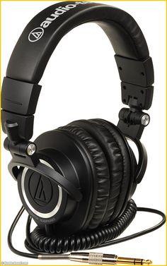 AUDIO TECHNICA ATH-M50 #audio-technica #ATH-M50 #casque