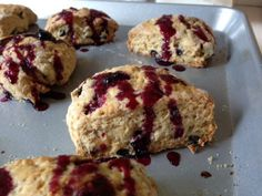 lemon blueberry scones - In Jennies Kitchen