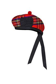 New Scottish Black Wool Blended Glengarry Hat with Red Pompom 6 Designs Scottish Clothing, Scottish Kilts, Scottish Highland Games, Kilt Accessories, Tam O' Shanter, Cool Hats, Black Wool, Headdress, Wool Blend
