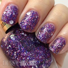 Milani - Sugar Cane (Gold Label Specialty Nail Lacquer Collection Spring 2014) / FierceMakeupAndNails