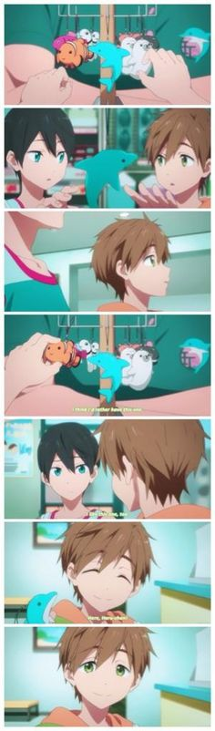 Free! ES ~~ Even when they were small, Makoto gladly sacrificed his own happiness for Haruka at every turn. Such a giving heart deserved more...
